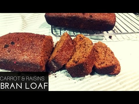 CARROT&RAISIN BRAN LOAF FT. Snowflake| South African YouTuber
