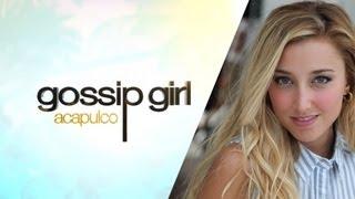 Gossip Girl Acapulco Sofia Habla Miley Cyrus Y Liam