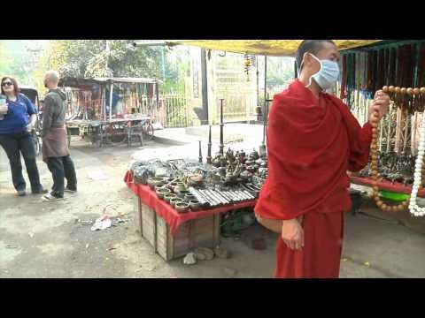 Bodhgaya, India  Street Scenes