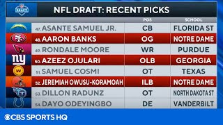 2021 NFL Draft: Breakdown Of Top Picks In 2nd Round | CBS Sports HQ