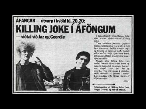 killing joke - jaz coleman with Þeyr - the catalyst