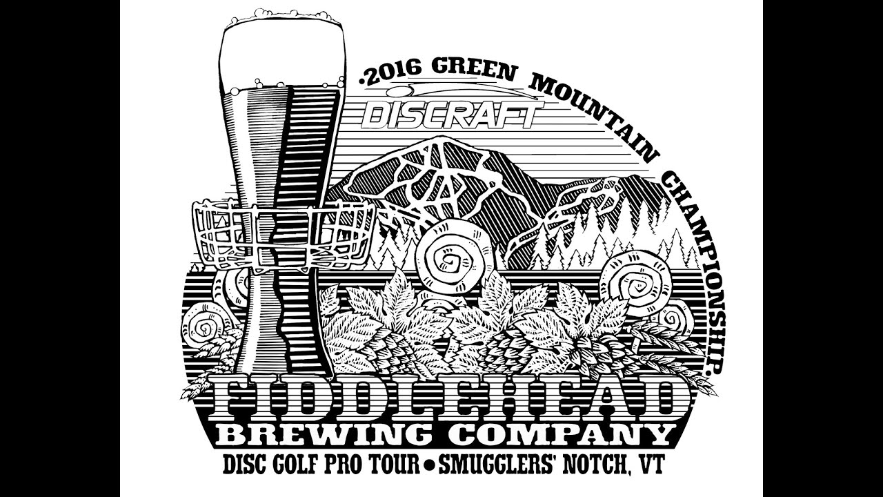 Disc Golf Speed Drawing Green Mountain Championship 2016 Youtube