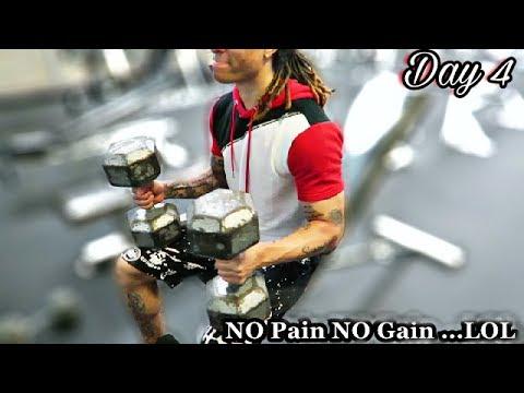 BACK IN THE GYM!! Vlog Day 4 #GymLife