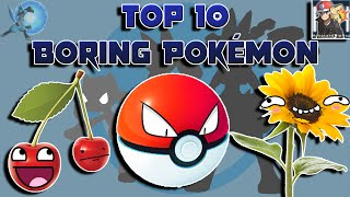 Top 10 Most Boring Pokémon (Feat. HoopsandHipHop)