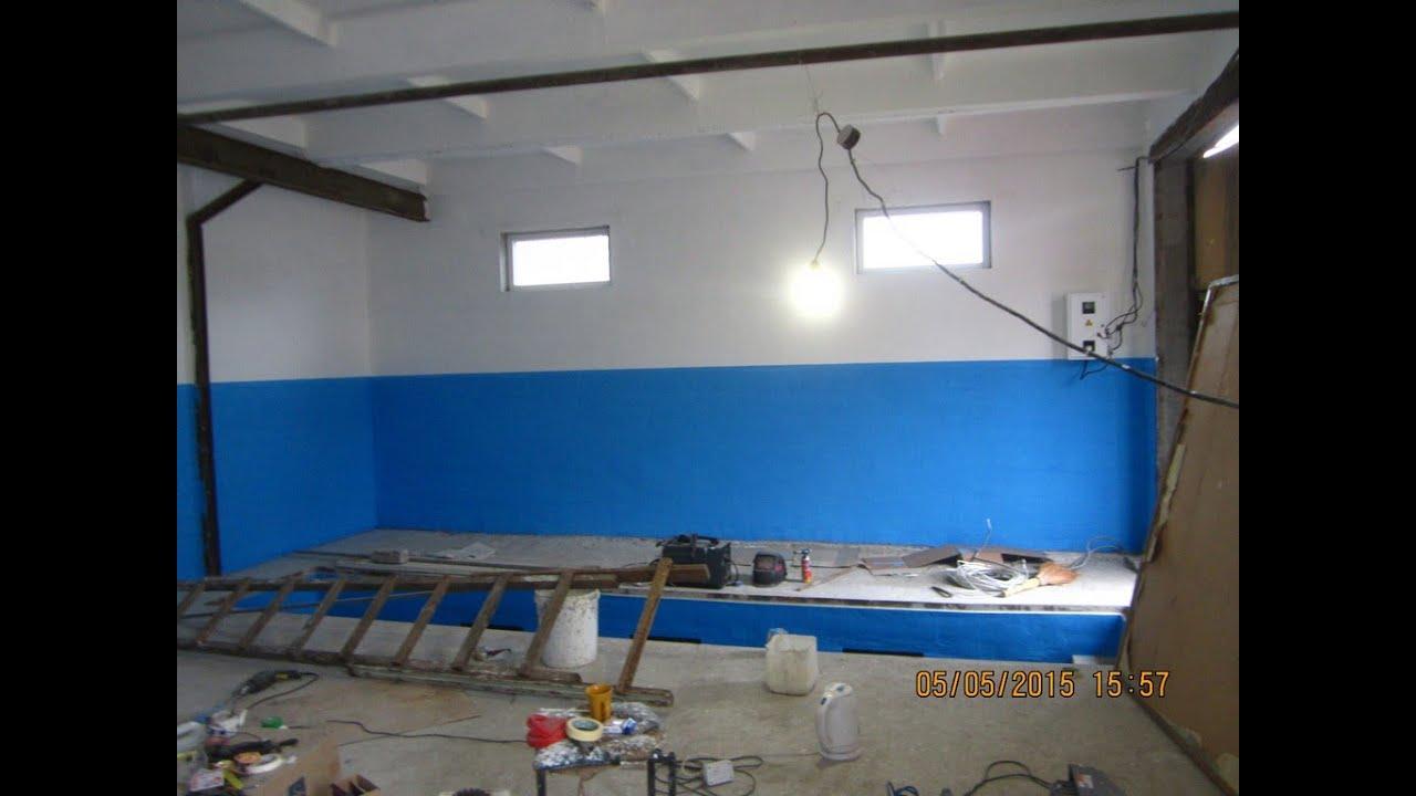 грунтование. покраска стен.