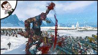 INSANE BLOOD FOR THE BLOOD GOD Battle! Total War WARHAMMER Gameplay!