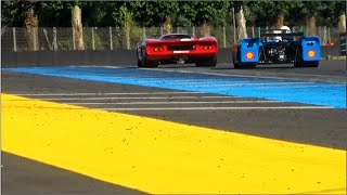 le mans classic 2016 grid 5 porsche 917 lola t70 matra 660 ferrari 312 p wonderful sounds