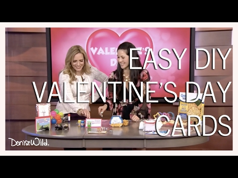 DIY Valentine's Day Cards Morning Live