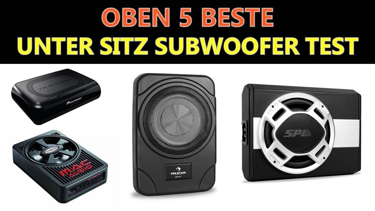 Untersitz Bass 20cm inkl Verstärker SUB JBL Bass Pro SL2Aktiv-Subwoofer