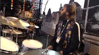 The New Maroons perform with Beatles' drummer Ringo Starr at Farm Aid VI in Ames, Iowa on April 24, 1993. Farm Aid was started by Willie Nelson, Neil Young ...