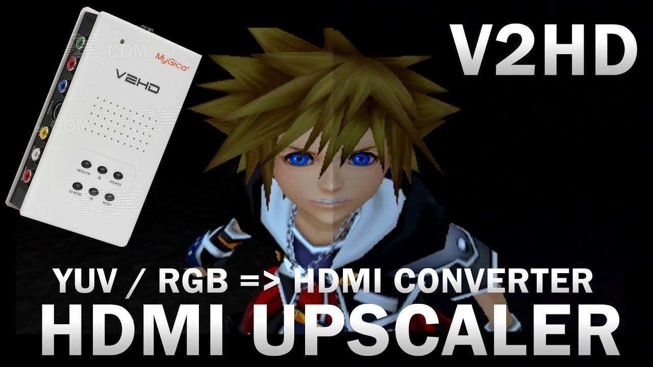 Présentation V2HD - Upscaler - Converter YUV / RGB vers HDMI