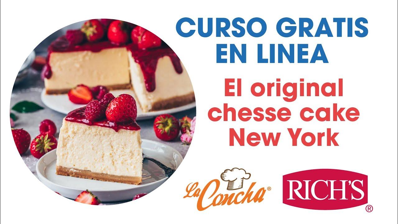 Curso Original Cheesecake New York Youtube