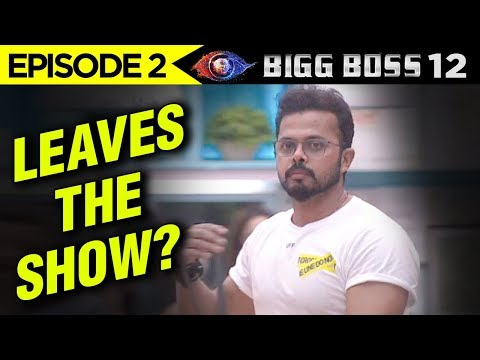 Bigg Boss 12 Episode 2 Update | Sreesanth...