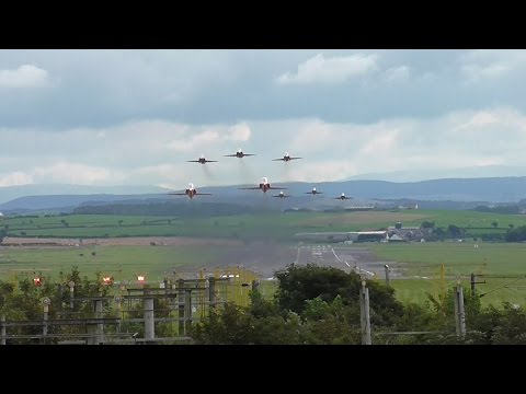 Red Arrows At Prestwick, September 2016