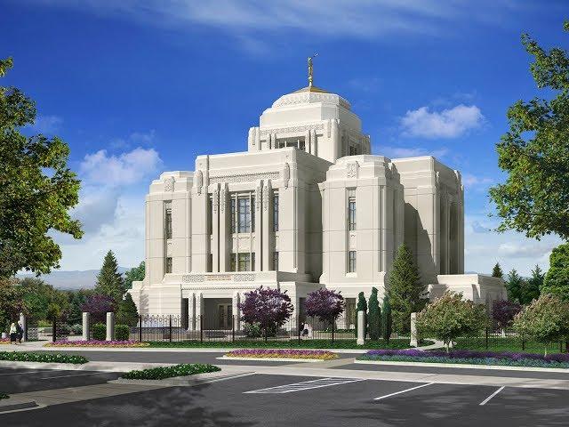 LDS Temple visit