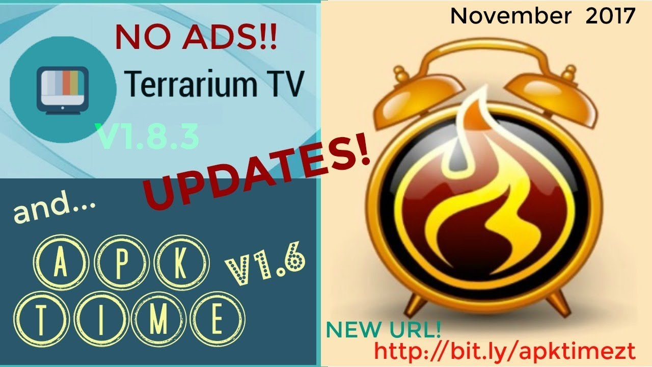 *UPDATE Terrarium TV APKTime NEW URL- http://bit ly/apktimezt
