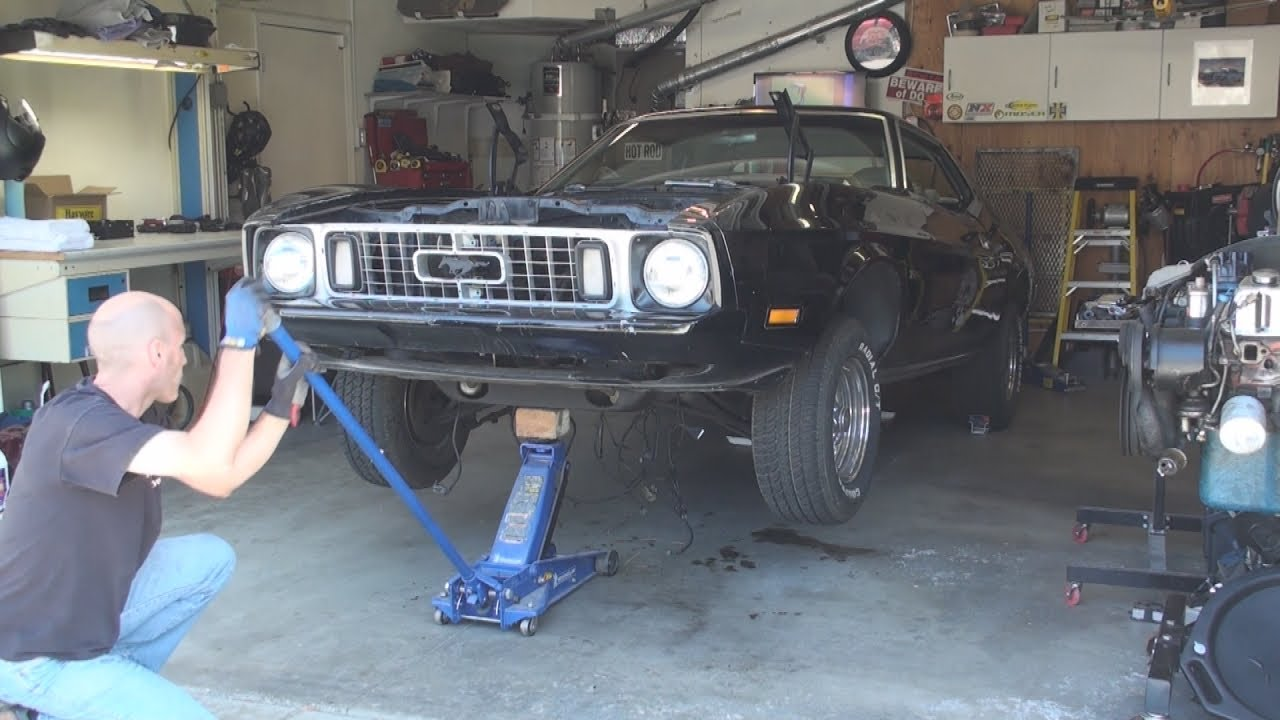 73 Ford Mustang 302 Build Slow Motion Drivetrain Grease Engine Wiring Suspension Preview