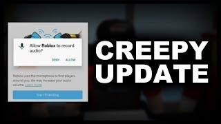 Could this Roblox Update Secretly Record Your Voice?