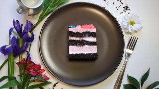 Шикарный шоколадный торт с ягодными прослойками
