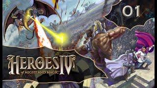 Zagrajmy w Heroes of Might and Magic IV - LOSOWY SCENARIUSZ - CHAOS #01