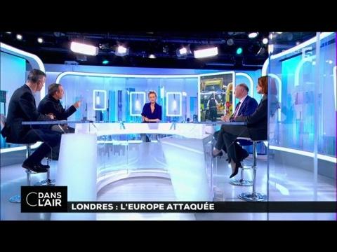 Londres : l'Europe attaquée #cdanslair 23-03-2017