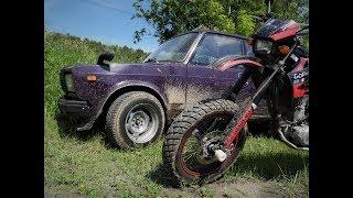 ЖИГАvsMOTOCROSS или как я поставил рычаги RallySport.
