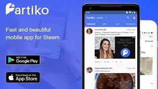 Earn Money Taking Pictures, Blogging, & Posting Videos   Partiko New dApp Mobile App for Steemit
