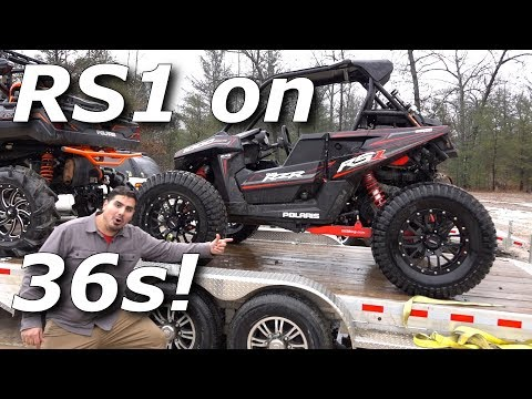Mudding a RZR RS1 on 36s and Mudlyfe destroys itself!