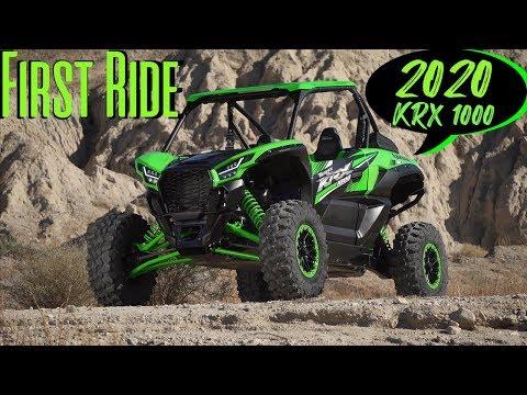 First Drive 2020 Kawasaki Teryx KRX 1000 - Dirt Wheels Magazine