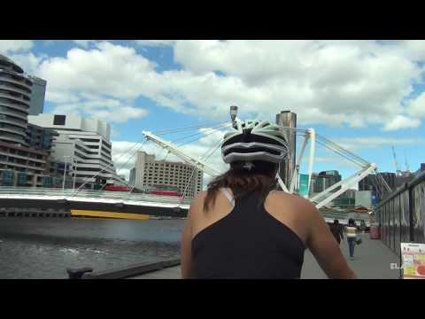 Melbourne by bike (HD)