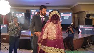 ਵਾਹ ਜੀ ਵਾਹ Beautifull Bridle Couple Manpreet phaji n Bhabi ji 1st Dance on Floor  DJ MUNDE RUDKE DE