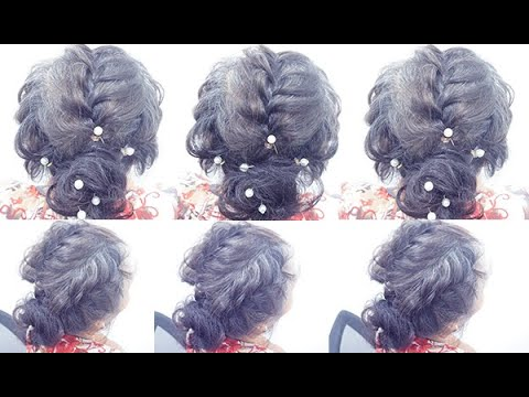 very fantastic and gorgeous hairstyle | romantic updo hairstyle | hairstyle for long hair |hairstyle thumbnail