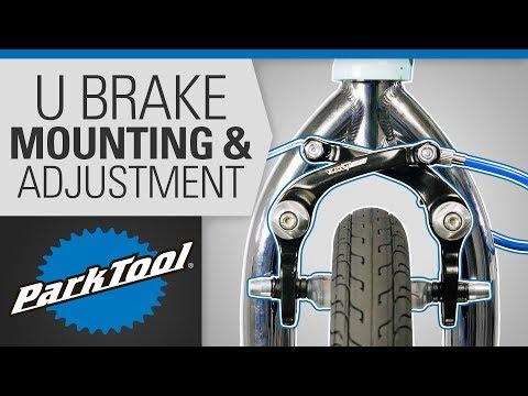 DiaTech Gordo AD996TW Front or Rear Black U//Bicycle Brake
