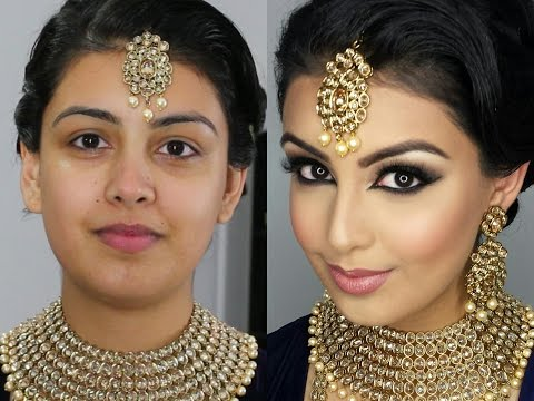 Indian/Bollywood/South Asian Bridal Makeup | Start to Finish
