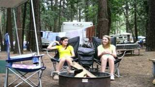 Taylor and Melissa Show Camping