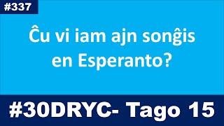 Ĉu vi iam ajn sonĝis en Esperanto? | Esperanto-vlogo