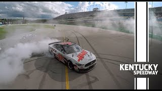 Recap: Cole Custer scores first career NASCAR Cup Series win at Kentucky Speedway