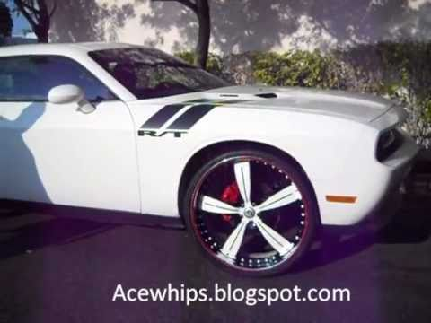 Acewhips Net Wtw Customs White Dodge Challenger R T On