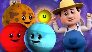 planet Lagu | pendidikan lagu | belajar planet untuk kanak-kanak | Solar System Rhyme | Planets Song