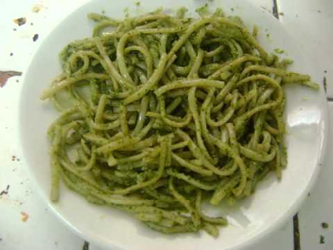 Comidas vegetarianas faciles pasta a la albahaca youtube - Comida vegetariana facil de preparar ...