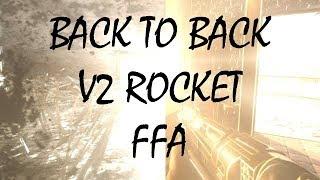 BACK TO BACK V2 ROCKET EN FFA!