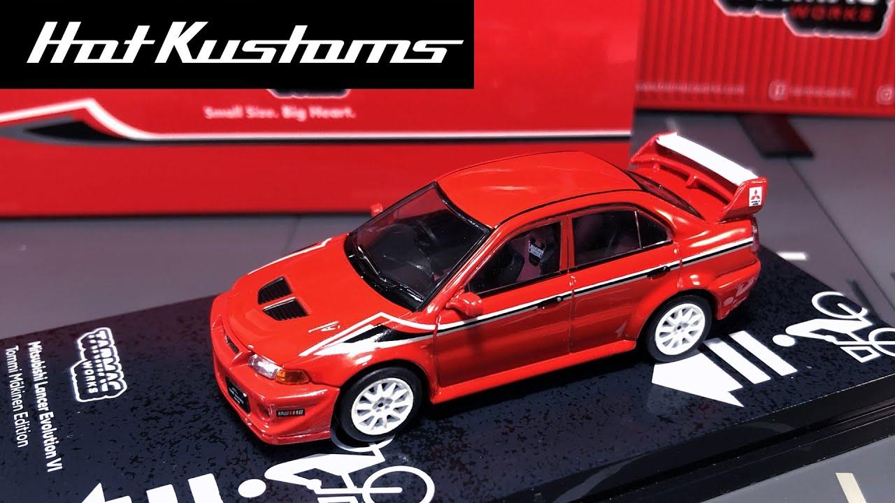Details about  /NOV 2020 Tarmac Mitsubishi Lancer Evolution VI EVO Monte Carlo Rally 2000 1//64