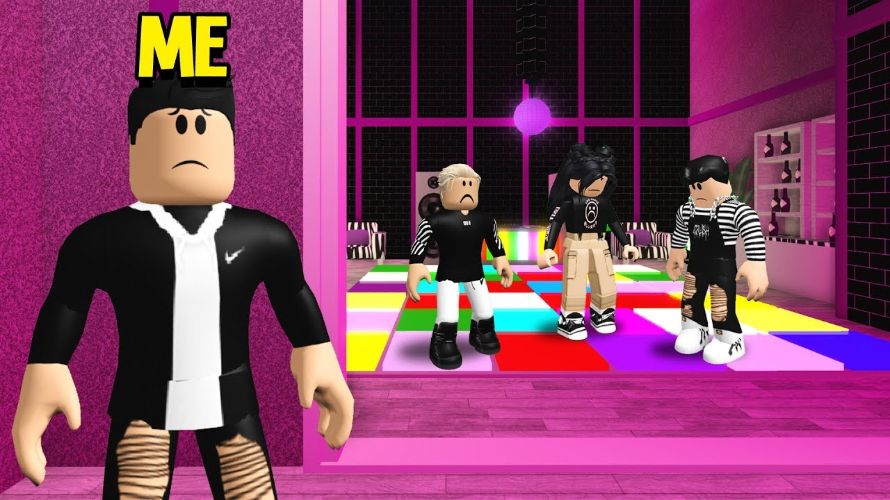 SAD People's Club Had An EVIL Secret.. I Went Undercover & EXPOSED It! (Roblox Bloxburg)
