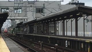 [試運転‼️]名鉄6000系鉄仮面 6047f(試運転本宿行き)新安城駅 通過‼️