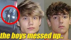 Bryce Hall & Jaden Hossler GET ARRESTED In Texas **ACTUAL FOOTAGE**