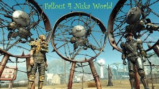Fallout 4 Nuka World Терроризируем Содружество