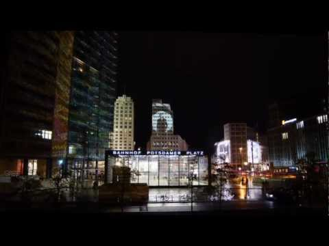 Timelapse Berlin during Festival of Lights