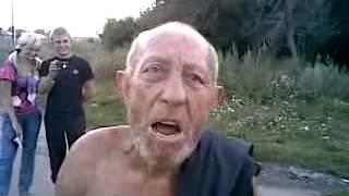 Дядя толя схватил белую горячку...