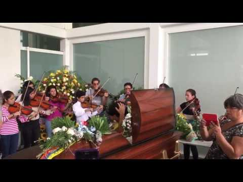 ¡DOLOROSO ADIÓS! Sinfónica Juvenil dio emotiva despedida a Armando Cañizales