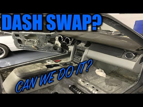 Dash Swap A Foxbody Mustang? *HOW HARD IS IT*